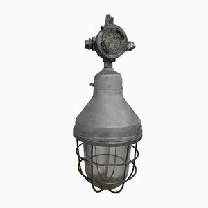 Lámpara industrial para exteriores de Cantem, Italy, años 60