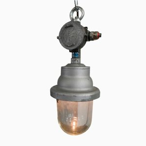 Industrial Cantem Outdoor Lamp, Italy, 1960s