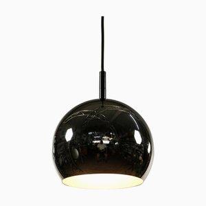 Vintage Chrome Ball Pendant Lamp, 1960s
