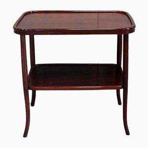 Tavolino Art Deco in faggio massiccio di Michael Thonet per Thonet, anni '30