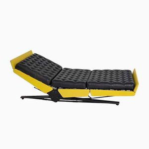 Yellow L77 Daybed by Osvaldo Borsani for Tecno, Italy, 1956