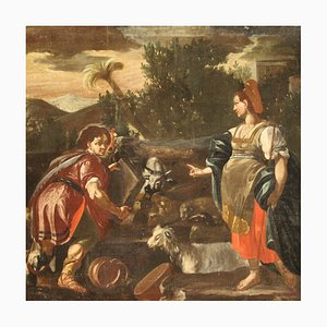Rachel and Jacob at the Well, Painting, 18th-Century