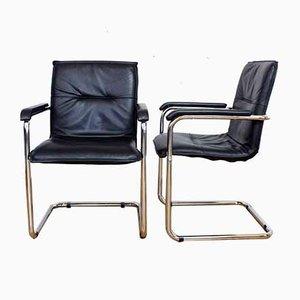Fauteuils Style Bauhaus, 1970s, Set de 2