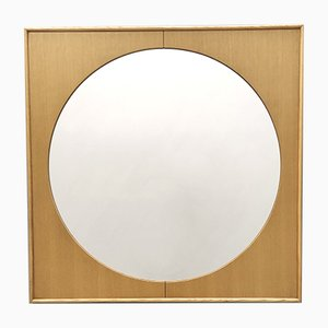 Squared Wall Mirror in the Style of Ettore Sottsass, Italy, 1980s