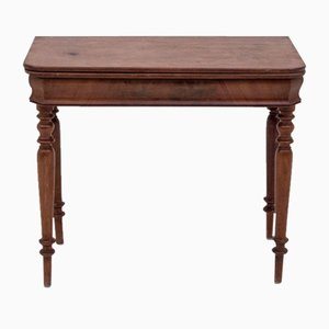 Renovated Card Table, 1880s
