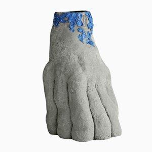 Raw Sculptural Series Keramikvase 07 von Anna De