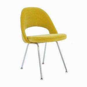 Armless Executive Chair with Tubular Legs by Eero Saarinen for Herman Miller, USA, 1960s