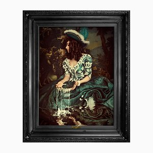 Water Is Not Enough ... Medium Printed Canvas von Mineheart