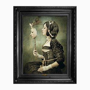 Mirror Mirror ... Medium Printed Canvas von Mineheart