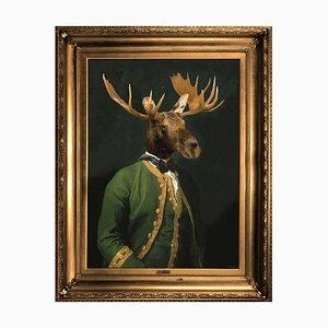 Lord Montague Große Printed Canvas von Mineheart