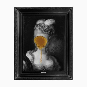 Madame Blush, Gold Edition Large Printed Canvas from Mineheart