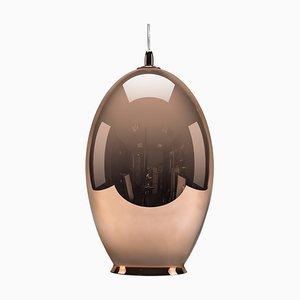Copper Mirror Vase-Shaped Pendant Lamp from Mineheart