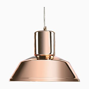 Copper Mirrored Factory Pendant Lamp from Mineheart