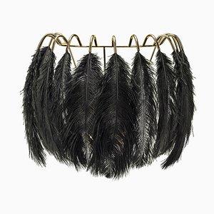Black Feather Wandlampe von Mineheart