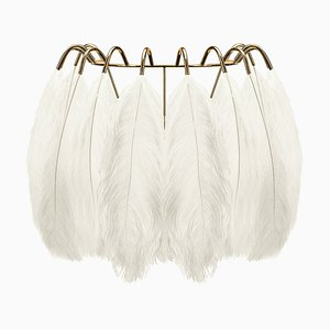 White Feather Wall Lamp from Mineheart