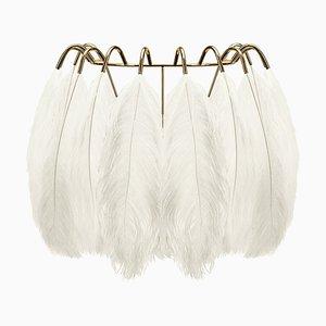 White Feather Wandlampe von Mineheart