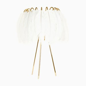 White Feather Table Lamp from Mineheart