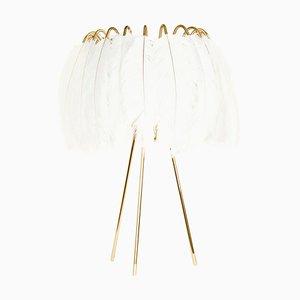White Feather Tischlampe von Mineheart