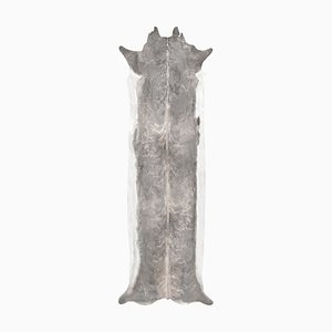 Long Stretched Faux Cowhide Rug from Mineheart