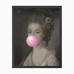 Mittelgroßes Bubblegum Portrait 5 von Mineheart