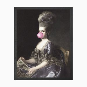 Mittelgroßes Bubblegum Portrait 6 von Mineheart