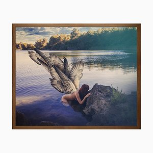Peace, Framed Medium Printed Canvas from Mineheart