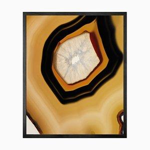 Geode 2, Gerahmte Bedruckte Leinwand von Mineheart