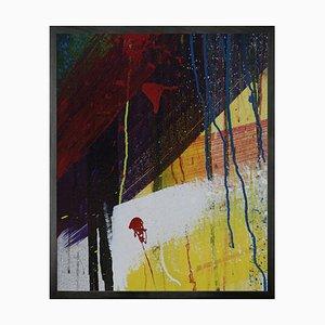 Graffiti 3, Framed Medium Printed Canvas from Mineheart