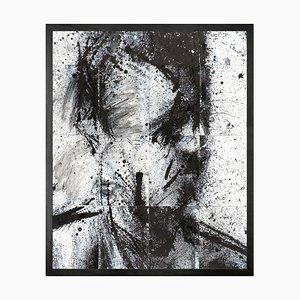 Head of Donald 5, Framed Medium Printed Canvas from Mineheart