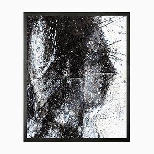 Head of George 2, Framed Medium Printed Canvas from Mineheart