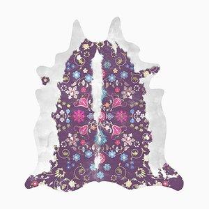 Gypsy Faux Purple Kuhfell Teppich von Mineheart
