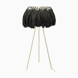 Feather Floor Lamp in Black from Mineheart