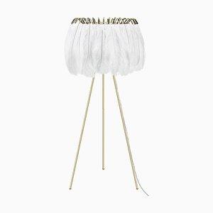 Feather Stehlampe in Weiß von Mineheart