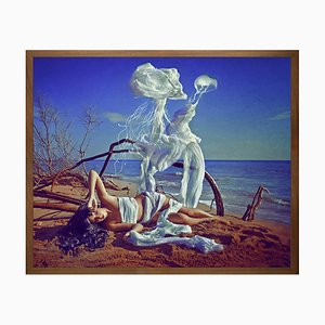 In the Morning They Large Printed Canvas von Mineheart