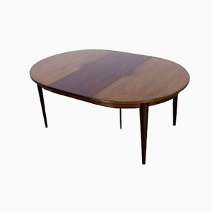 Danish Extendable Dining Table Model 55 by Omann Junior