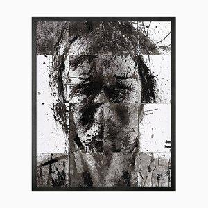 Printed Canvas Kopf von George 1 Gerahmte Leinwand von Mineheart