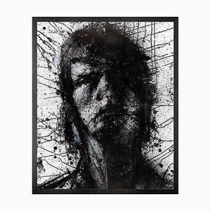 Leiter von Mike 1 Framed Large Printed Canvas von Mineheart