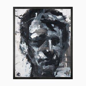 Großes Nr. 10 Selbstporträt Printed Canvas von Mineheart