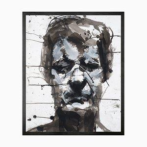 Selbstporträt No. 7 Framed Printed Canvas Large von Mineheart