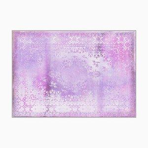 Kashan Remix Purple Teppich von Mineheart