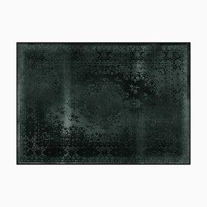 Kashan Remix Black Teppich von Mineheart