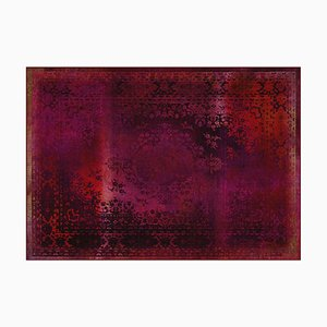 Kashan Remix Red Rug from Mineheart