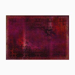 Roter Kashan Remix Teppich von Mineheart