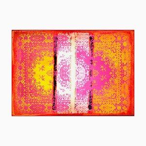 Kushan Remix Orange Pink Teppich von Mineheart