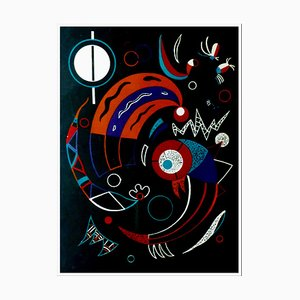 After Wassily Kandinsky, the Comets, 1938, Lithograph