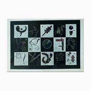Litografia di Kandinsky, Composition, 1957