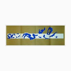 Litografia Henri Matisse, piscina, 1958