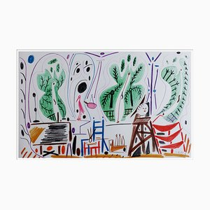 Nach Pablo Picasso, Specifications of California V, 1959, Lithografie