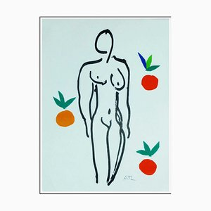 After Henri Matisse, Nude with Oranges, 1958, Lithograph