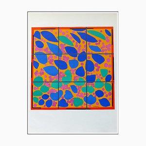 Litografia di Henri Matisse, Flowers of Ivy, 1958